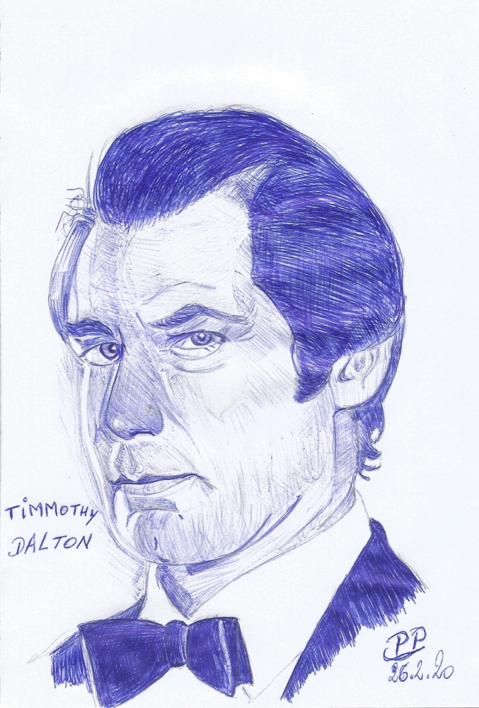 Timothy Dalton by Patoux